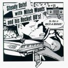 mitch woods and his rocket 88&#39;s - steady date CD1984 blind pig used mint