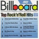 billboard top rock n roll hits 1972 - various artists CD 1989 rhino 10 tracks used mint