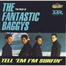fantastic baggys - tell 'em i'm surfin' CD 1992 EMI capitol 21 tracks used mint