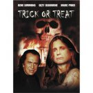 trick or treat - gene simmons + ozzy osbourne DVD 2002 platinum used mint
