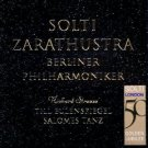 Strauss - Also Sprach Zarathustra + Till Eulenspiegels + Salomes Tanz - Solti CD 1997 decca