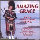 amazing grace - a real highland fling CD 1995 madacy 14 tracks used mint