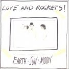 love and rockets - earth sun moon CD 1987 bigtime RCA 13 tracks used mint