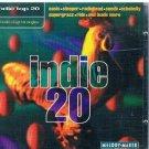 indie top 20 volume 21 - various artists CD 1995 beechwood used mint