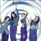 b*witched - we four girls are here to stay VHS 1999 sony epic used mint