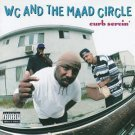 wc and the maad circle - curb servin' CD 1995 london records 16 tracks used mint