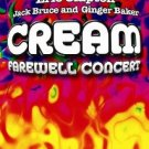 cream farewell concert - Eric Clapton Ginger Baker Jack Bruce DVD 2005 image used mint