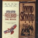 lynyrd skynyrd - freebird the movie + tribute tour DVD 2001 artisan hallmark used mint