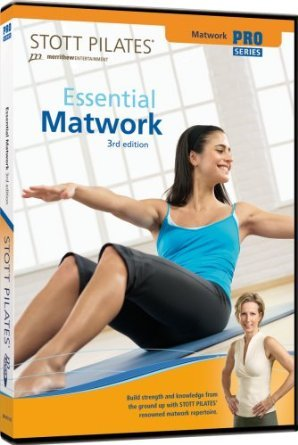 Stott Pilates Essential Matwork 3rd Edition DVD 2007 Merrithew new
