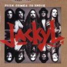 jackyl - push comes to shove CD 1994 geffen 12 tracks used mint