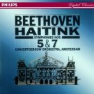 beethoven symphonies nos 5 & 7 - haitink & concertgebow orchestra amsterdam CD philips used mint