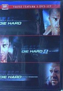 die hard die hard 2 die hard with vengeance DVD 2009 20th century fox used mint