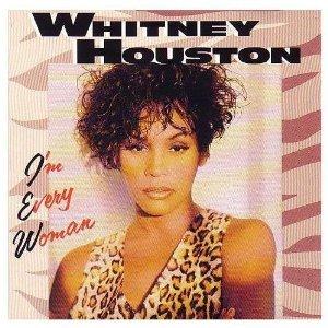 whitney houston - i'm every woman CD 1993 arista 6 tracks used mint