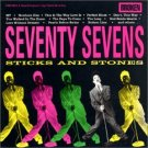 seventy sevens - sticks and stones CD 1990 broken records BMG Direct used mint