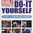 dj qbert's do-it yourself vol.1 skratching DVD thud rumble video used mint