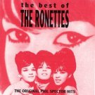 ronettes - best of ronettes CD 1992 abkco 18 tracks used mint