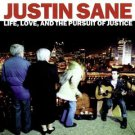 justin sane - life love and the pursuit of justice CD 2002 A-F records used mint