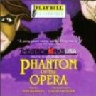 phantom of the opera - Theatreworks USA Original Musical Production CD 1998 playbill used