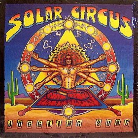 solar circus - juggling suns CD 1989 relix records 10 tracks used mint