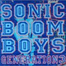 sonic boom boys - generation 3 CD 2001 org records 10 tracks used mint