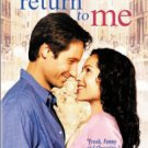 return to me - david duchovny + minnie driver DVD 2000 MGM used mint