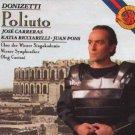 donizetti - poliuto - jose carreras katia ricciarelli juan pons CD 1989 CBS used mint