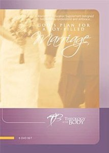 god's plan for a joy-filled marriage - christopher west DVD 6-disc set ascension press used