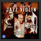 best of jazz violin - joe venuti / jean luc-ponty / stephane grapelli CD 1998 delta used mint