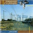 ferdinand et les philosophes - enclume CD 1991 recrec switzerland 10 tracks used mint