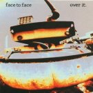 face to face - over it CD 1994 victory 7 tracks used mint