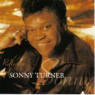 sonny turner - reflections of sonny turner CD 1998 so-turner inc 12 tracks used mint