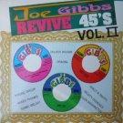 joe gibbs - revive 45's volume II CD rocky one 12 tracks used mint