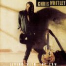 chris whitley - living with the law CD 1991 sony 13 tracks used mint