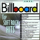 billboard top soft rock hits 1971 - various artists CD 1997 rhino used mint