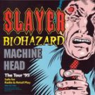slayer biohazard machine head - the tour '95 CD 1994 american recordings 9 tracks used mint