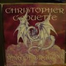 christopher caouette - ring of dragons CD 1998 inner force music 7 tracks used mint