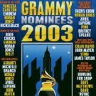 2003 grammy nominees - various artists CD 2003 warner 19 tracks used mint