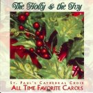 the holly and the ivy - st. paul's cathedral choir all time favorite carols CD 1998 platinum used