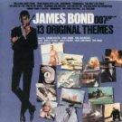 james bond 13 original themes - various artists CD 1983 liberty used mint