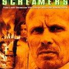 screamers - peter weller & roy dupuis DVD 1998 sony used mint