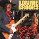 lonnie brooks - satisfaction guaranteed CD 1991 alligator records 12 tracks used mint