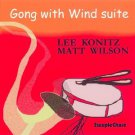 lee konitz & matt wilson - gong with wind suite CD 2002 steeplechase 13 tracks used