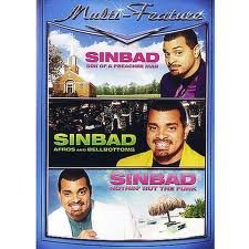 Sinbad: Son Of A Preacher Man / Afros And Bellbottoms / Nothin' But The Funk DVD 3-disc box used