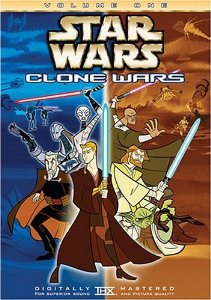 star wars - clone wars volume one DVD 2005 lucas film fox used mint