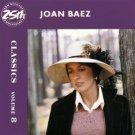 joan baez - classics volume 8 CD 1986 A&M BMG Direct 17 tracks used mint