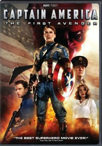 captain america the first avenger DVD 2011 paramount used mint