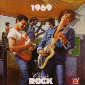 classic rock 1969 - various artists CD 1988 time life warner 23 tracks used mint