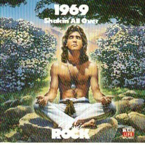 classic rock 1969 shakin' all over - various artists CD 1990 time life warner 21 tracks used mint