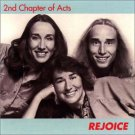 2nd chapter of acts - rejoice CD 1991 sparrow 12 tracks used mint