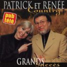 patrick et renee - country CD 1998 disques star quebec 14 tracks used mint